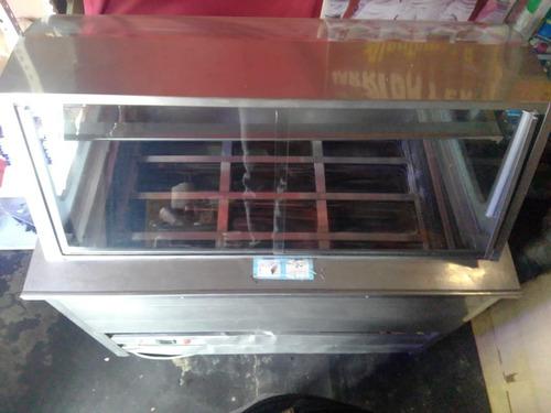 exhibidora de helados 12pz