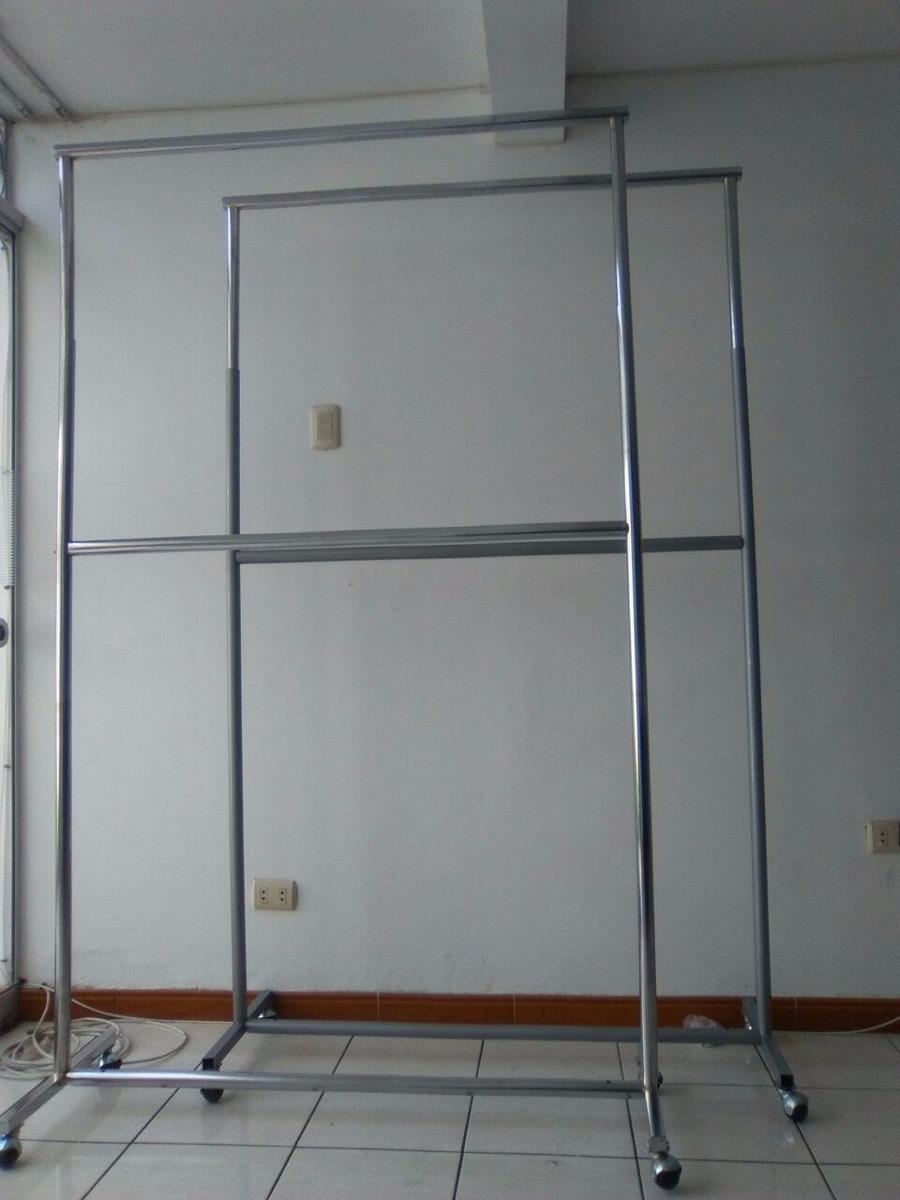 exhibidores colgadores metalicos para ropa s 113 00 en