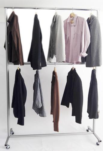 exhibidores colgadores metalicos para ropa