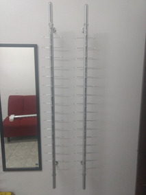 103991a212 Exhibidores De Pared, Para 15 Armazones Con Llave