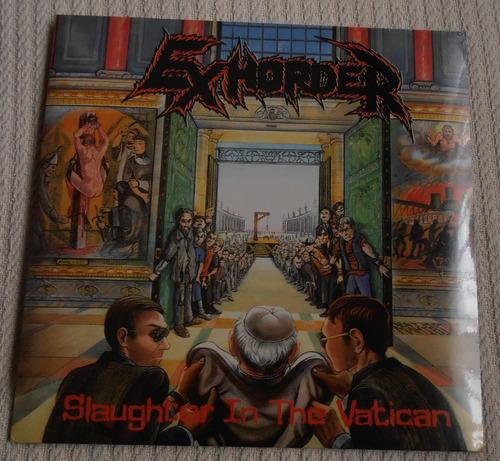 exhorder - slaughter in the vatican (vinilo ed. alemana)