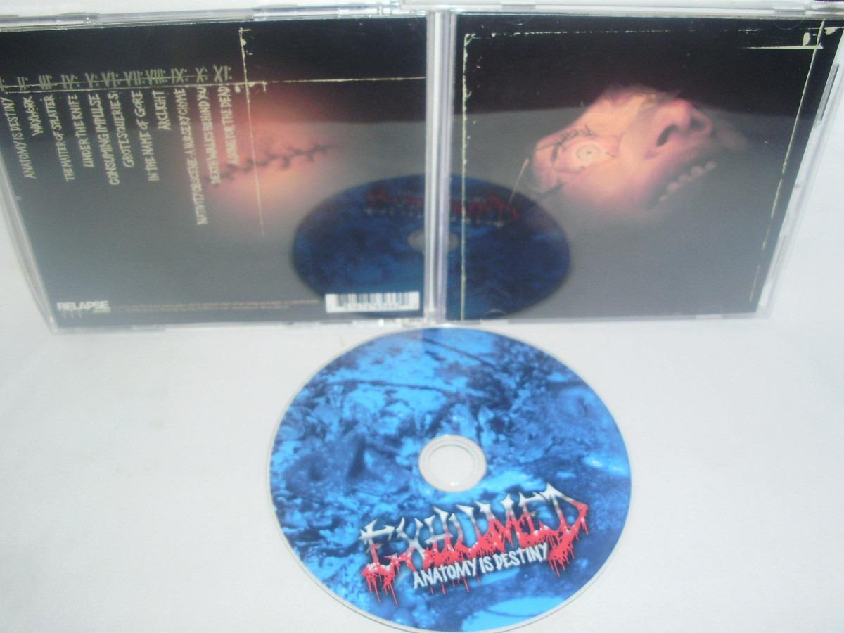 Exhumed - Anatomy Is Destiny - $ 6.900 en Mercado Libre