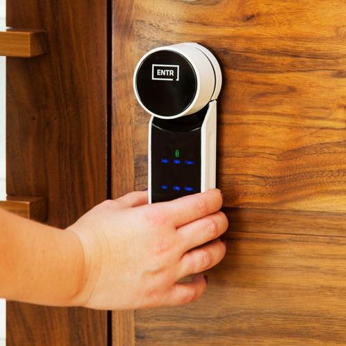 exi-h mul-t-lock cerradura electrónica entr smart lock huell