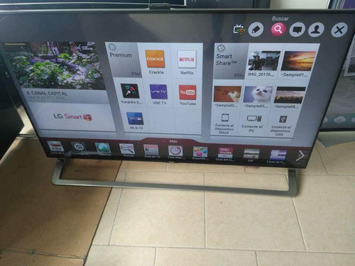 exibicion tvs lg 65 smart 3d 4k con camara y barra de sonido