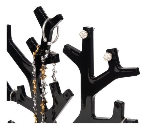 exibidor organizador accesorios joyeria aretes collares