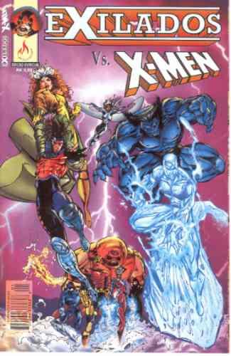 exilados vs x-men edição especial mythos bonellihq cx88 g19