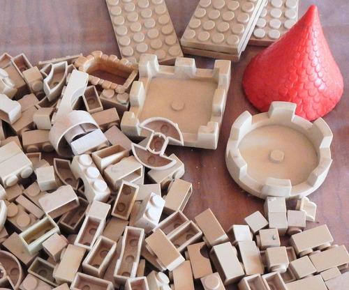 exin castillo medieval 246 piezas, usado.