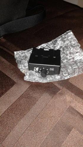 exitador para planta de sonido