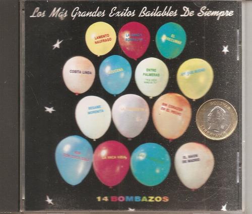 exitos bailables  -  cd  original - un tesoro musical