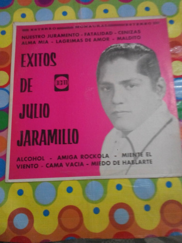 exitos de julio jaramillo lp alcohol