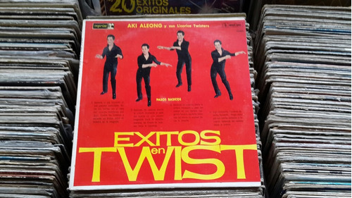 éxitos en twist aki aleong y sus licorice twisters
