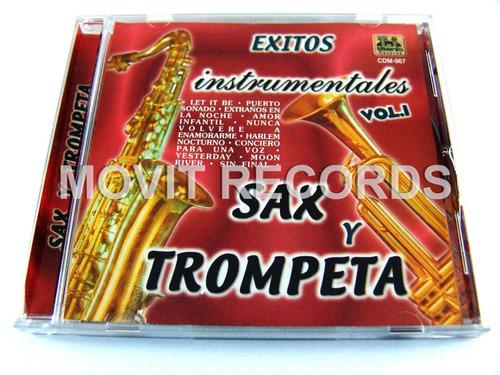 exitos instrumentales vol 1 sax y trompeta cd seminuevo2003