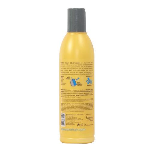 exo hair exotrat nano conditioner 250ml - cuidados diários