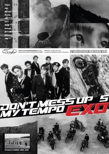 exo the 5th album don't mess up my tempo allegro ver cd nuev