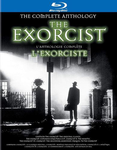 exorcista antología completa película blu ray nueva original