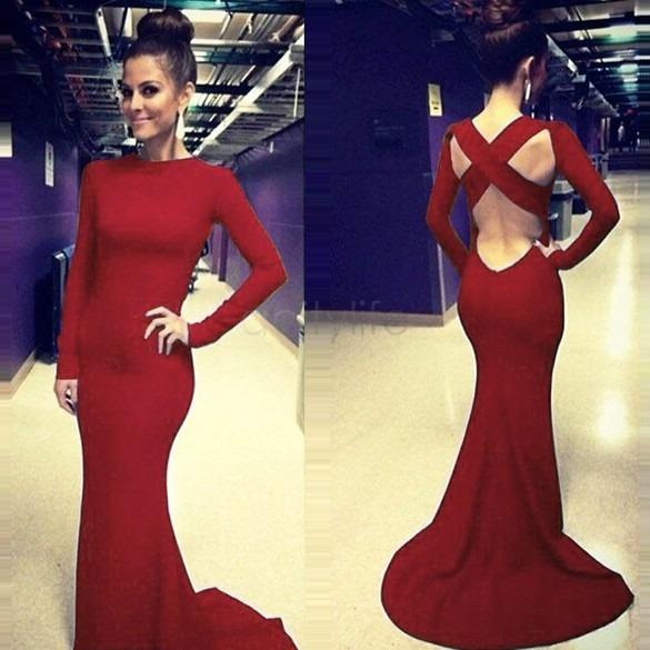 EspaldaSeda RojoSin Vestido EspaldaSeda ElasticadaMangas Exótico Vestido Exótico RojoSin ElasticadaMangas Vestido Exótico 3q4j5RAL