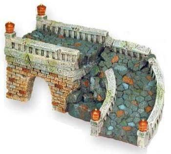 exóticos entornos castle rock puente acuario ornamento