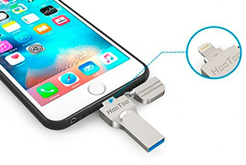expansion memoria 64gb para iphone 5 6 6s 7 ipad ixpand usb