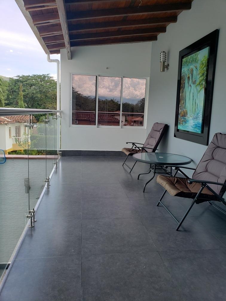 expectacular cabaña san jeronimo piscina, turco y yacuzzi