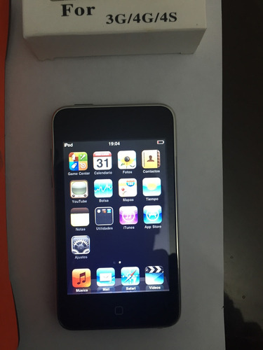 expectacular ipod touch 8gb tercera generacion wi-fi