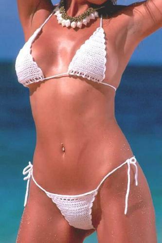 expectaculares bikini a crochet