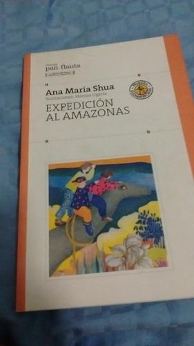 expedicion al amazonas col. pan flauta sudamericana