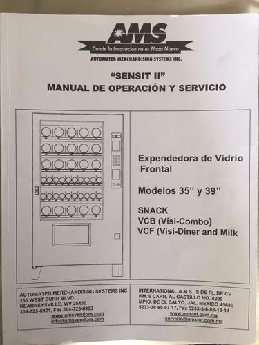 expendedora de vidrio frontal (vending machine)
