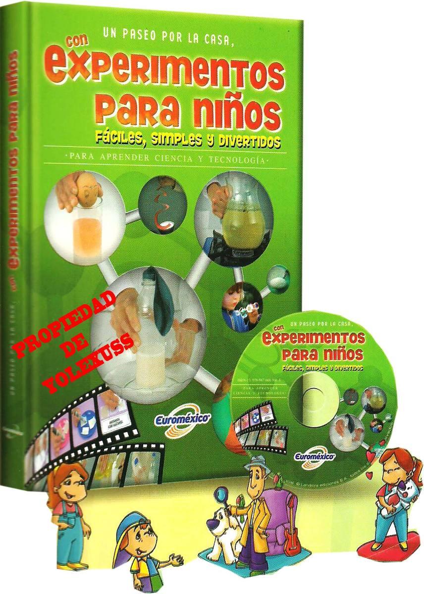 Experimentos Para Niños, Faciles, Simples Y Divertidos Origi - S/ 84 ...