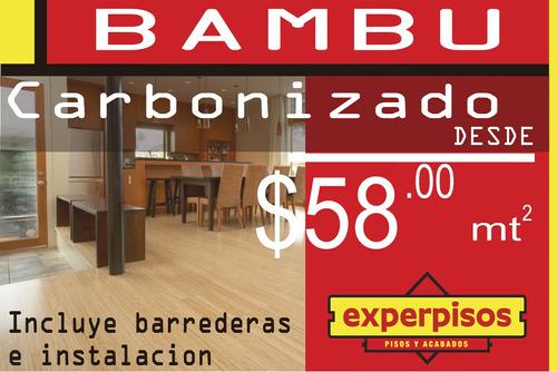 expermisos pisos de bambu barredera granito ceramica