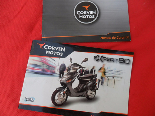 expert 80 corven moto scooter  manual no antiparra vespa