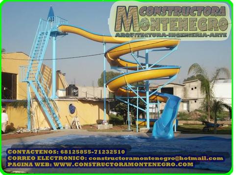 expertos en la construccion de parques acuaticos infantiles