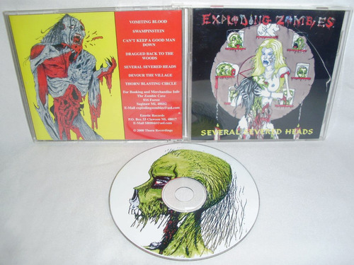 exploding zombies - several severed heads ( brutal death met