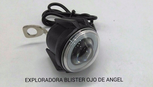 exploradora blister moto carro led 3000 lm ojo de angel