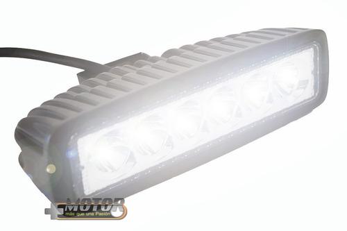 exploradora led 18w 1800 lumenes euro beam + obsequios