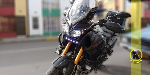 exploradora led 18w moto o carro blanca 6000k garantía 6 mes