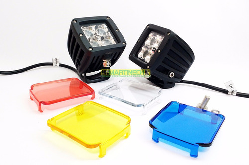 exploradoras moto led 20w dualbeam elite alta gama + filtros