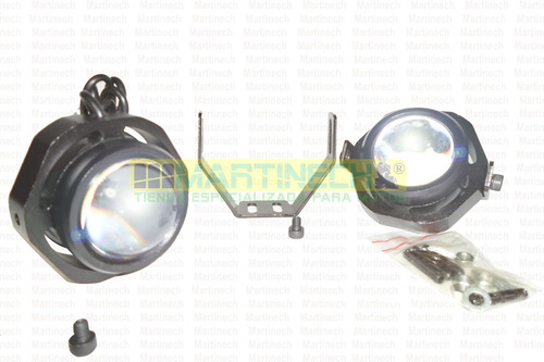 exploradoras moto led par 20 watts 2500 lumenes con strober