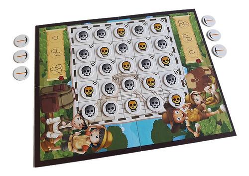 exploradores - juego de mesa familiar de estrategia, novedad