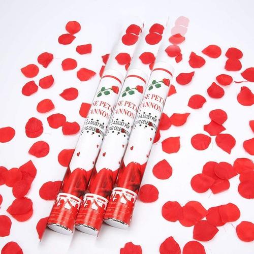 explosión de confetti petalos fiestas hora loca matrimonio 2