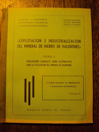 explotacion industrialización mineral hierro mineria valenti
