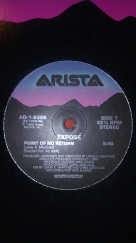 exposé - point of no return (12, promo )