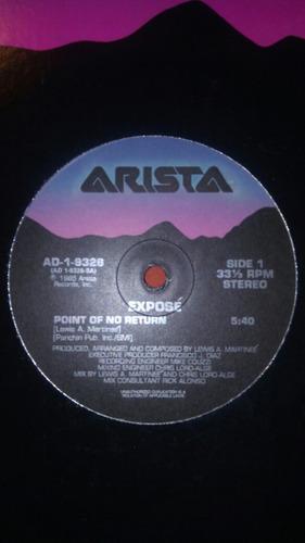 exposé - point of no return (12 pulgadas )