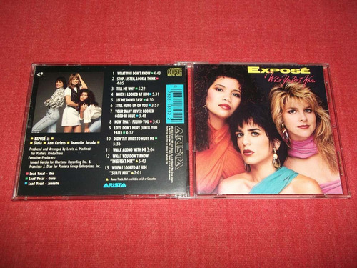 expose - what you don't know cd imp ed 1989 mdisk