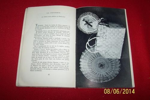 exposicion de arte popular - buenos aires, 1949