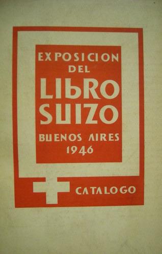 exposición del libro suizo - catálogo