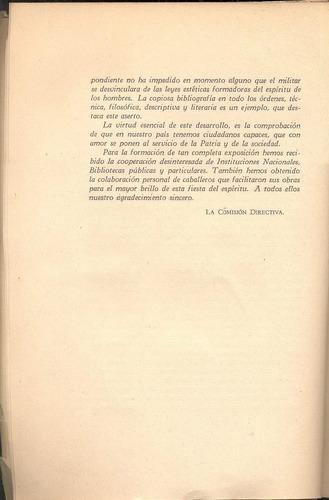 exposición del libro y de la litografía  -  círculo militar