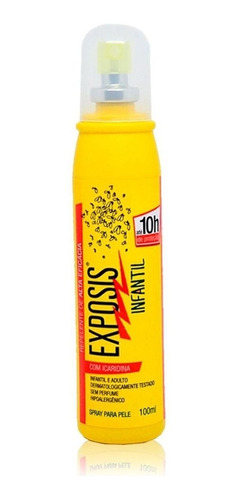 exposis spray 100ml infantil - repelente