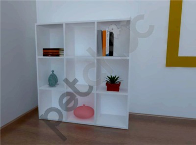 expositor armário prateleira estante colméia 9 nichos
