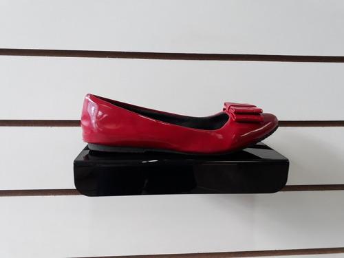 expositor bandeija plataforma calcados sapato kit 35 pecas