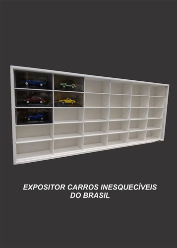 expositor carros inesquecíveis stock car 30 nichos 10% off